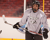 Ryan Tait (PC - 8) - The Providence College Friars practiced at Fenway on Friday, January 6, 2017, in Boston, Massachusetts.