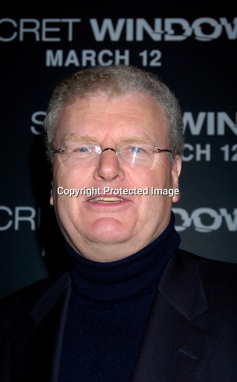 "Sir Howard Stringer..at the World Premiere of ""Secret Window"" on March 7, 2004 at the Loews Lincoln Square.                                   Photo by Robin Platzer, Twin Images"