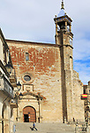 Iglesia de San Martin church in Plaza Mayor h medieval town of Trujillo, Caceres province, Extremadura, Spain