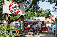 Austin's food truck parks offer delectable delights from their original and international cuisine offerings.