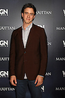LOS ANGELES - JUL 9:  Ashley Zukerman at the WGN Series Manhattan Photo Op July 2014 TCA at the Beverly Hilton Hotel on July 9, 2014 in Beverly Hills, CA