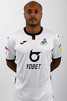 Andre Ayew of Swansea City  poses for a head shot at Fairwood Training Ground in Swansea, Wales, UK. Thursday 15 August 2019