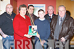 SUPPORTERS: Supporters of Snooker who attended the Snooker exhibition by Ken Doherty and Ronnie O'Sullivan at Ballyroe Heights Hotel, Tralee, on Thursday night. Front l-r: Kathleen Moriarty, Nicholas Tarrant and Liam Heaslip. Back l-r: Keith McGlynn, Sean Costello and Denis Foley..