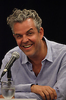 August 25 2012 - Montreal (Qc) CANADA -  News Conference for TWO JACKS with Danny Huston, actor  (L), his son Jack Huston, actor and Julia Verdin, producer.  IN PHOTO : Danny Huston.<br /> <br /> <br /> TWO JACKS is in the Official Competien of Montreal World Film Festival that run til September 3, 2012.<br /> <br /> Danny Huston is the son of filmmaker John Huston
