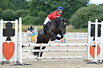 Class 2. British novice. British showjumping juniors. Brook Farm Training Centre. Essex. 16/07/2017. MANDATORY Credit Garry Bowden/Sportinpictures - NO UNAUTHORISED USE - 07837 394578
