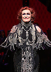 Glenn Close during the Opening Night Curtain Call bows for Andrew Lloyd Webber's 'Sunset Boulevard' at the Palace Theatre on February 9, 2017 in New York City.