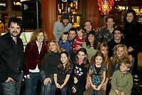 Montreal (Qc) CANADA - December 2007 file photo-<br /> <br /> launch of La galere (TV) DVD.<br /> Alliance Vivafilm, Productions RCB inc.,et Cirrus ont lanc&eacute; mercredi 5 d&eacute;cembre le coffret DVD de la premiZre saison de la s&eacute;rie &laquo; La GalZre C, diffus&eacute;e sur les ondes de Radio-Canada. Ont particip&eacute; ? ce lancement : lOauteure Ren&eacute;e-Claude Brazeau, la r&eacute;alisatrice Sophie Lorain, et la plupart des com&eacute;diennes et com&eacute;diens dont Anne Casabonne, H&eacute;lZne Florent, Brigitte Lafleur et GeneviZvre Rochette.<br /> <br /> photo (c) Pierre Roussel- Images Distribution