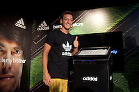 The Real Madrid player Mesut Ozil, is presented as new image of the sports brand Adidas at Bernabeu Store in Madrid. August 28, 2013. (ALTERPHOTOS/Caro Marin)