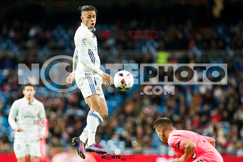 "Real Madrid's Mariano during the match of ""Copa del Rey"" between Real Madrid and Cultural Leonesa at Santiago Bernabeu Stadium in Madrid, Spain. November 29, 2016. (ALTERPHOTOS/Rodrigo Jimenez) /NORTEPHOTO.COM"