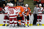 - The Princeton University Tigers defeated the Harvard University Crimson 2-1 on Friday, January 29, 2010, at Bright Hockey Center in Cambridge, Massachusetts.