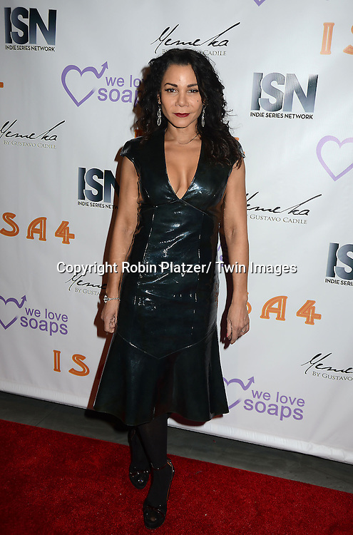Daphne Rubin-Vega attends the  4th Annual Indie Soap Awards  on Tuesday, February 19th at The New World Stages in New York City. .
