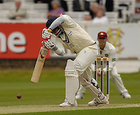London, GREAT BRITAIN, Middlx's, Owais SHAH, plays the ball, during the first session  the Liverpool Victoria Div 2 County championship match between  Middlesex vs Northamptonshire, at Lords Cricket ground, England on Wed 25.04.2007  [Photo, Peter Spurrier/Intersport-images].....
