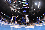 MILWAUKEE, WI - MARCH 18: Butler Bulldogs forward Andrew Chrabascz (45) attempts a jump shot during the first half of the 2017 NCAA Men's Basketball Tournament held at BMO Harris Bradley Center on March 18, 2017 in Milwaukee, Wisconsin. (Photo by Jamie Schwaberow/NCAA Photos via Getty Images)
