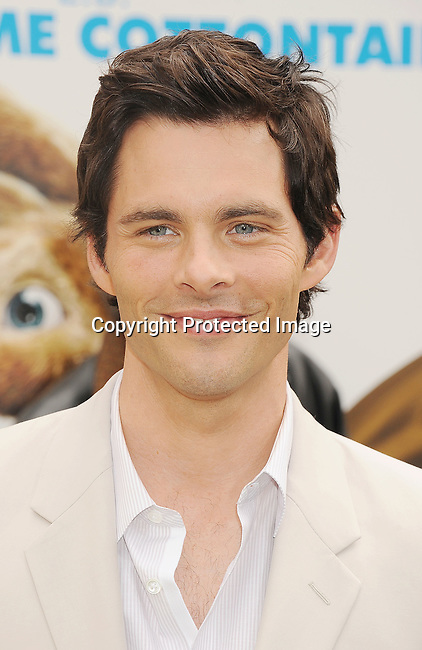 """Universal City, CA - March 27: James Marsden  arrives at the Los Angeles premiere of """"Hop"""" at Universal Studios Hollywood on March 27, 2011 in Universal City, California."""