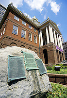 Hartford, Connecticut.Old State House ( built 1796)  on State Street. Hartford is  the Capitol of Connecticut