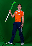 AMSTELVEEN- HOCKEY - PIEN SANDERS,  lid van de trainingsgroep van het Nederlands dames hockeyteam. COPYRIGHT KOEN SUYK