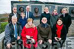 Unveiling of Wall of Remembrance for the The Ballykissane Tragedy Good Friday 1916 in Killorglin on Friday. Pictured The Charlie Monaghan Family. Front l-r  John O'Connor, Patricia McAree, Thomas Ni Mhonachain, Aine Ni Mhonachain. Back l-r  Matthew McRee, Oscar Mac Reanoinn, Ailbhe o Monachin, Sorcha Ni Mhonachain, Cainnear Nic Reamoinn agus Eabhla Ni Mhonachain