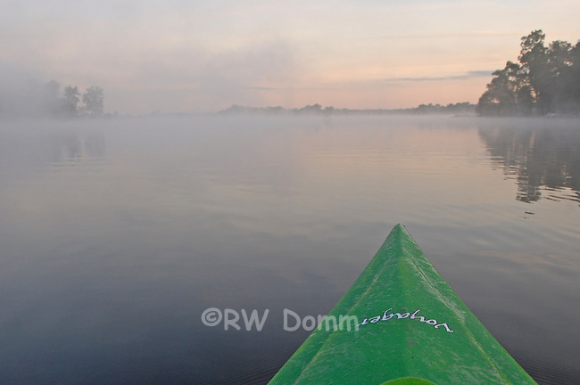 kayak Portage lake Morning