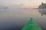 kayak Portage lake Morning