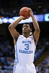 15 November 2015: North Carolina's Kennedy Meeks. The University of North Carolina Tar Heels hosted the Fairfield University Stags at the Dean E. Smith Center in Chapel Hill, North Carolina in a 2015-16 NCAA Division I Men's Basketball game. UNC won the game 92-65.