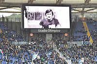 Tribute to former Lazio's goalkeeper Felice Pulici died on december 18 at age of 73 ahead the Serie A 2018/2019 football match between SS Lazio and Cagliari at stadio Olimpico, Roma, December 22, 2018 <br />  Foto Andrea Staccioli / Insidefoto