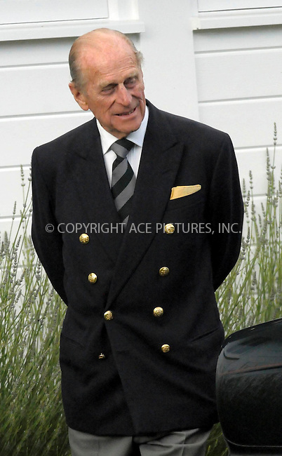 WWW.ACEPIXS.COM . . . . .  ..... . . . . US SALES ONLY . . . . .....June 21 2009, New York City....Prince Philip at The Royal Windsor Cup Final held at the Guards Polo Club in Egham, Surrey on June 21 2009 in England....Please byline: FAMOUS-ACE PICTURES... . . . .  ....Ace Pictures, Inc:  ..tel: (212) 243 8787 or (646) 769 0430..e-mail: info@acepixs.com..web: http://www.acepixs.com