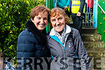 Aileen Griffin, Ballyfinnane, and Mary Fitzgerald, Farranfore at the Ballyheigue Pattern day mass on Friday.