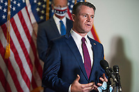 United States Senator Todd Young (Republican of Indiana), offers remarks following the GOP luncheon in the Hart Senate Office Building on Capitol Hill in Washington, DC., Tuesday, September 15, 2020. <br /> Credit: Rod Lamkey / CNP /MediaPunch