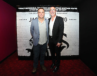 Pictured L-R: Director Marc Evans and music composer Mal Pope.  Friday 12 September 2014<br />