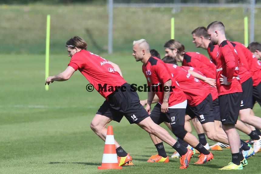 Alex Meier sprintet - Eintracht Frankfurt Training