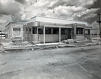Flo's Roadside Diner.  An old diner, popular before Interstate 65 bypassed the area.  The building sits abandoned at this time.