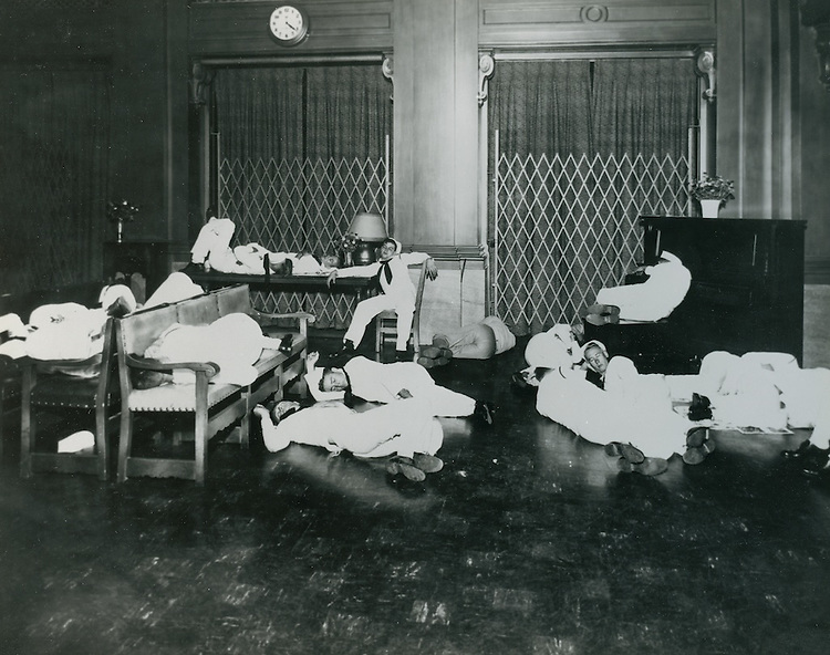 UNDATED..Historical...Sailors at YMCA...NEG#.NRHA#..