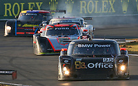 30 January 2011: The #95 BMW Riley of Scott Tucker, Ryan Hunter-Reay, Richard Westbrook, and Raphael Matos, Rolex 24 at Daytona, Daytona International Speedway, Daytona Beach, FL (Photo by Brian Cleary/www.bcpix.com)