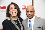 Lynne Meadow and Ruben Santiago-Hudson attends August Wilson's 'Jitney' Broadway opening night after party at Copacabana on January 19, 2017 in New York City.