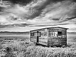Rolling bunkhouse at the abandoned R C Ranch, Panorama Hills, Carrizo Plain National Monument, San Luis Obispo County, Calif.