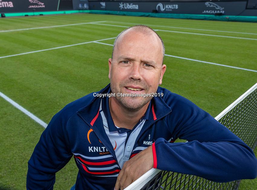 Rosmalen, Netherlands, 13 June, 2019, Tennis, Libema Open, Account managers KNLTB<br /> Photo: Henk Koster/tennisimages.com