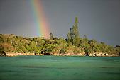 Orage sur l'îlot Caanawa, baie de Gadji, Ile des Pins, Nouvelle-Calédonie
