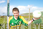 ON THE BALL: Daragh O'Sullivan from The Glen National School who won the South Kerry Schools Gaelic Football Skills competition.   Copyright Kerry's Eye 2008
