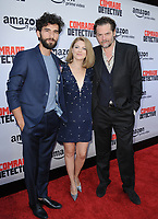 www.acepixs.com<br /> <br /> August 3 2017, LA<br /> <br /> (L-R) Cornilieu Ulici, Olivia Nita, Florin Piersic Jr. arriving at the premiere of Amazon's 'Comrade Detective' at the ArcLight Hollywood on August 3, 2017 in Hollywood, California<br /> <br /> By Line: Peter West/ACE Pictures<br /> <br /> <br /> ACE Pictures Inc<br /> Tel: 6467670430<br /> Email: info@acepixs.com<br /> www.acepixs.com