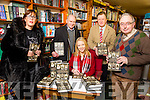 Dr Hélène O'Keeffe was sign her new book 'To Speak of Easter Week, Family Memories of the Irish Revolution at Polymaths Bookshop on Saturday. Pictured l-r  Ann O'Neill, Maurice O'Keeffe, Hélène O'Keeffe, James O'Carroll and Michael Brosnan.