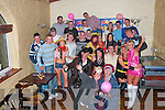 19TH: Carrie Griffin of Gallowsfield (seated 3rd from left), celebrated her 19th Birthday at The Greyhound Bar, Tralee, on Friday night last with family and friends..