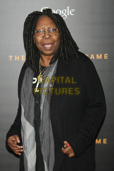 NEW YORK, NY - NOVEMBER 17: Whoopi Goldberg at the US premiere of The Imitation Game presented by The Weinstein Company at the Ziegfeld Theatre in New York City on November 17, 2014. <br /> CAP/MPI/RW<br /> &copy;RW/MPI/Capital Pictures