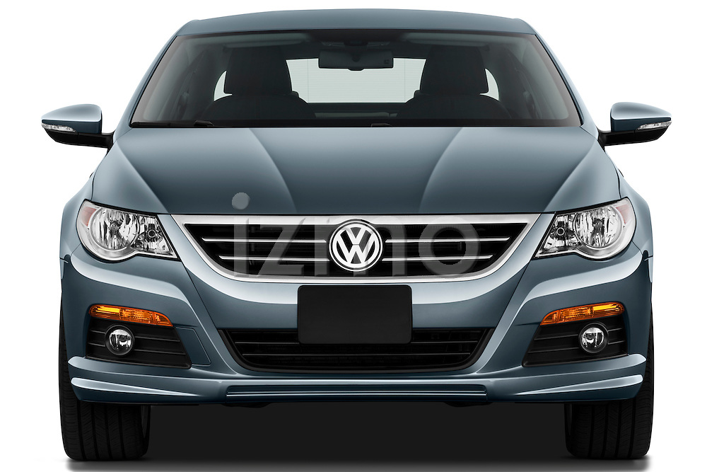 Straight front view of a 2010 Volkswagen CC Sport R-Line Sedan
