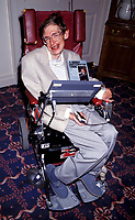 STEPHEN HAWKING<br /> genius, wheel chair<br /> Ref: 026<br /> &copy; Capital Pictures /MediaPunch ***NORTH AND SOUTH AMERICAS ONLY***