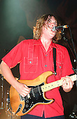 THE ZUTONS - vocalist guitarist David McCabe - performing live in concert at the Shepherds Bush Empire, London UK - 08 Oct 2004.  Photo by: George Chin/IconicPix