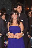 Andres Velencoso and Carmen Ruiz attend 'FIN' Premiere at Callao Cinema in Madrid on november 20th 2012...Photo: Cesar Cebolla / ALFAQUI.. /Alter/NortePhoto
