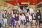 Double Celabration : Tania O'Connor, Listowel celebrating her 30th Birthday and her engagement to Kevin Flavin, Listowel with family & friends at the Kingdom Bar, Listowel on Saturday night last.