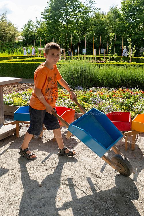 """""""Le Jardin Malin"""" de Terra Batonica à Angers (Maine-et-Loire) pour apprendre aux enfants à jardiner de façon naturelle…"""