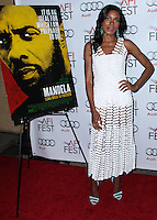 """HOLLYWOOD, CA - NOVEMBER 10: Actress Naomie Harris arrives at the AFI FEST 2013 - Premiere Of The Weinstein Company's """"Mandela: Long Walk To Freedom"""" held at the Egyptian Theatre on November 10, 2013 in Hollywood, California. (Photo by Xavier Collin/Celebrity Monitor)"""