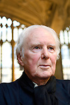 Brian Sewell at the Divinity School at the Bodleian Library during the Sunday Times Oxford Literary Festival, UK, 16 - 24 March 2013.<br />